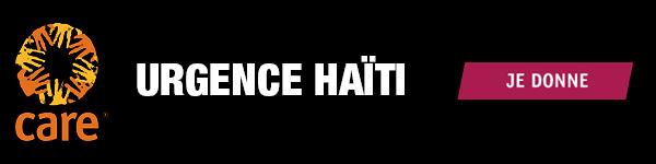 CARE - Urgence Haïti